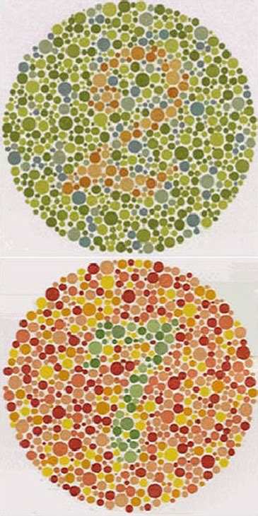 color vision deficiency test color vision deficiency exles color vision testing