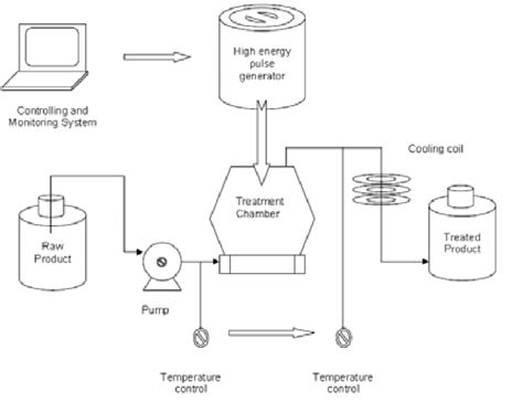 Proces Flow Diagram Component by 1 Flow Chart Of A Pef Food Processing System With Basic