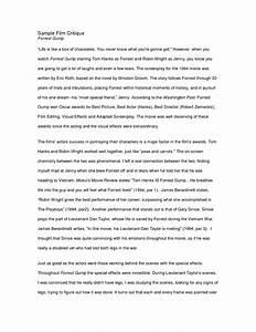 Essay For Health Critique Example Essay College Essay Paper Format also Fifth Business Essays Critique Example Essay  Underfontanacountryinncom Thesis Statements For Persuasive Essays