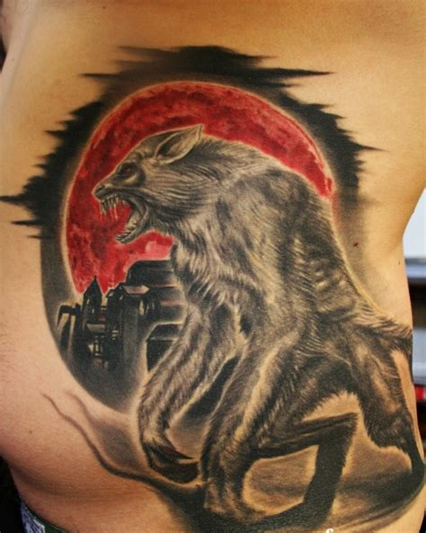 werewolf tattoos designs ideas  meaning tattoos