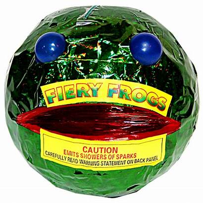 Fireworks Phantom Fiery Frogs Fountains Ground Packaging