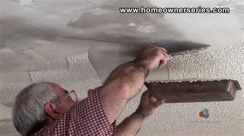fix drywall removing popcorn texture drywall