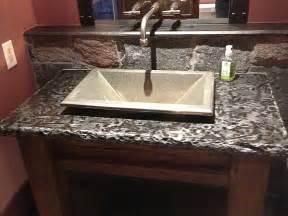 Bathroom Vanity with Granite Countertop