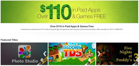Amazon Appstore Giving Over US$110 Worth of Android Apps ...