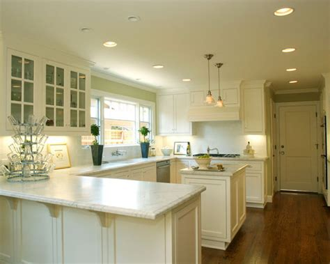 u shaped kitchen island u shaped kitchen with island design ideas pictures