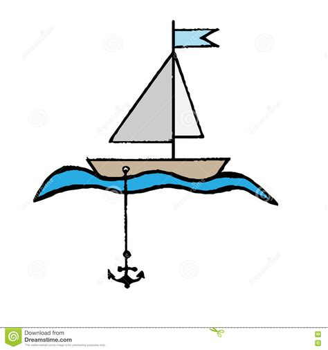 Boat Anchor Clipart by Anchor Clipart Boat Anchor Pencil And In Color Anchor