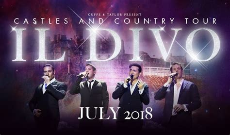 Il Divo Tour by Il Divo Tickets In At Royal Naval College On