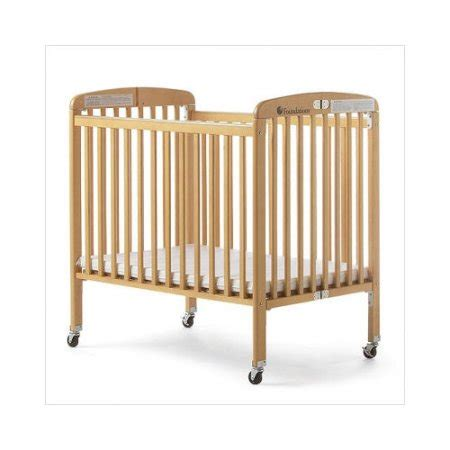 foundations 1011 hideaway folding size crib with 4 bundle 94 foundations hideaway size folding portable