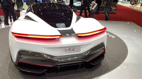 The elephant was the hood ornament on what was the wildest bugatti before wwii: Pininfarina BATTISTA 1900 HP crazy hypercar - World Premiere at Geneva Motor Show 2019 - YouTube
