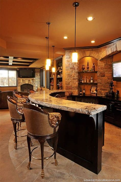 basement bar ideas  perfect   man cave