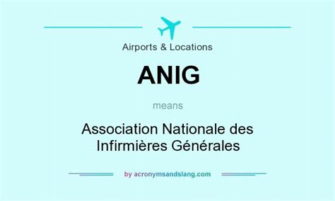Anoraa Association Nationale Des What Does Anig Definition Of Anig Anig Stands
