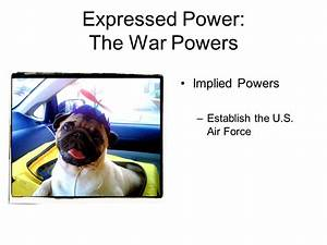 Implied Powers. - ppt video online download