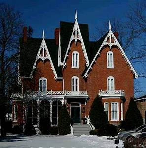 Gothic revival home | Beautiful house designs | Pinterest