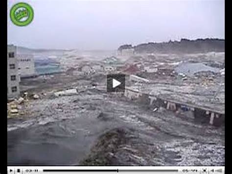 tsunami caught  camera japan  youtube