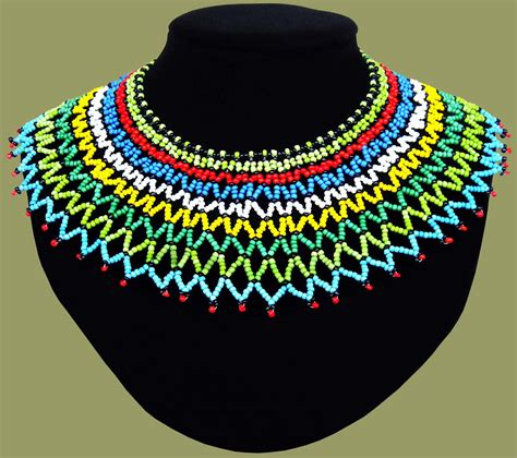 zulu wedding necklace african corporate gifts