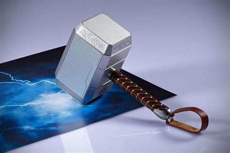 this thor mjolnir hammer has the power to charge your