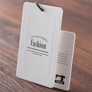customized price tags for clothing printed swing hang tag With apparel labels and tags