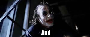 Heath Ledger Joker GIF - Find & Share on GIPHY