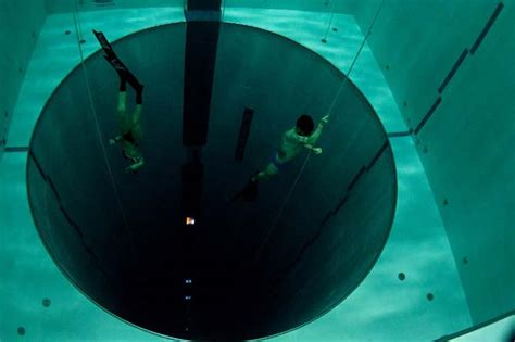 In Pictures Inside The World's Deepest Swimming Pool. Deals On Living Room Sets. Curtains For Living Room Windows. Grey Wood Living Room Furniture. Diy Projects For Living Room