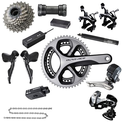 shimano dura ace di2 9070 groupset 11s cable routing