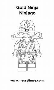Lego, Ninjago, -, Gold, Ninja