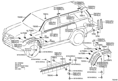 Oem Toyota Parts Catalog Diagram