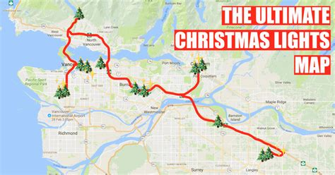 here s a map to finding the most magical christmas lights