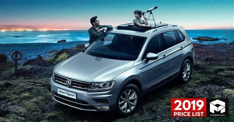 volkswagen cars suvs price list  india full lineup