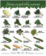 Asian cook guide vegetable