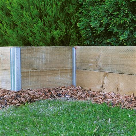 Pine Sleepers by Cheap Wooden Garden Sleepers Fasci Garden