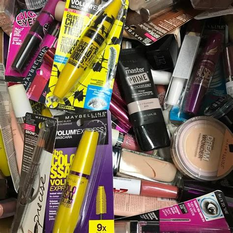 wholesale assorted maybelline cosmetics lot choose