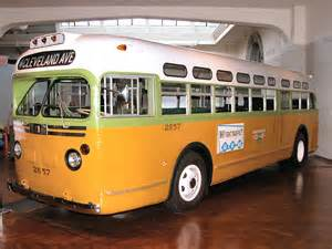 Rosa Parks Montgomery Bus 1955