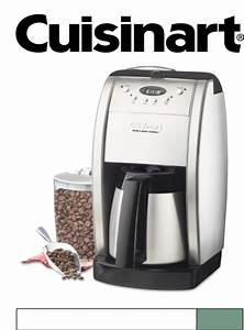 How To Program A Cuisinart Coffee Maker - UUMPress Store ...