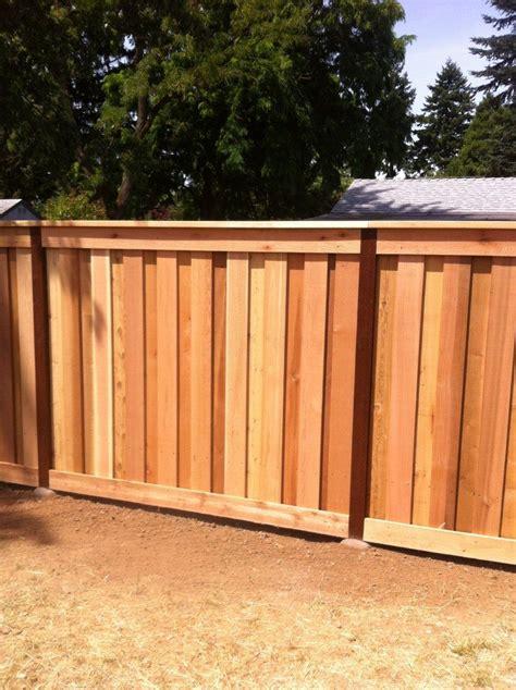 fence styles images cedar fence styles embassy enterprises