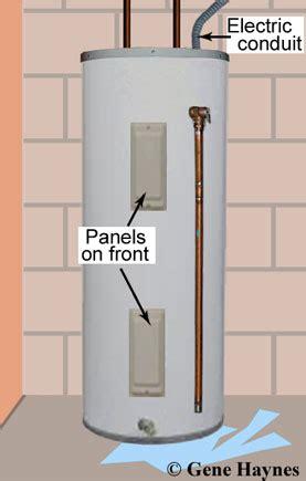 leaking water heater