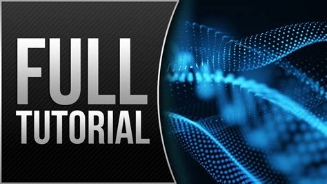 after effects motion graphics tutorial creating motion graphic elements using trapcode form