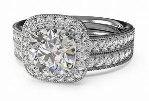 How to find the perfect matching wedding band for your for Finding a wedding band to match engagement ring