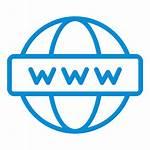 Icon Internet Web Site Address Globe Network