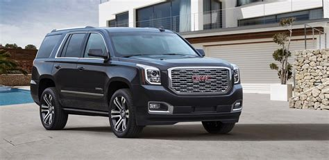 2018 Gmc Yukon Denali Gets A New Grille And 10speed