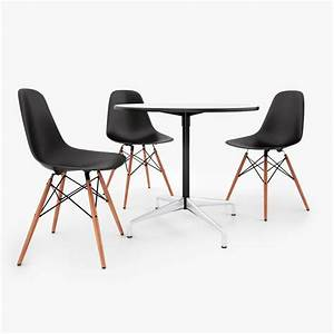 Vitra Eames Chair : vitra dsw chair eames tables 3d model facequad ~ A.2002-acura-tl-radio.info Haus und Dekorationen