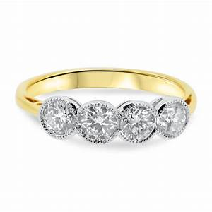 Best of yellow gold engagement ring settings for Diamond wedding ring settings