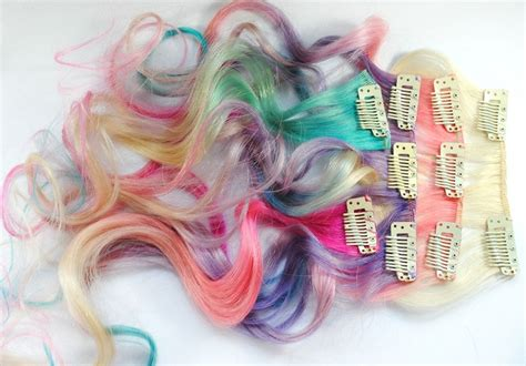 1000 Ideas About Colored Hair Extensions On Pinterest