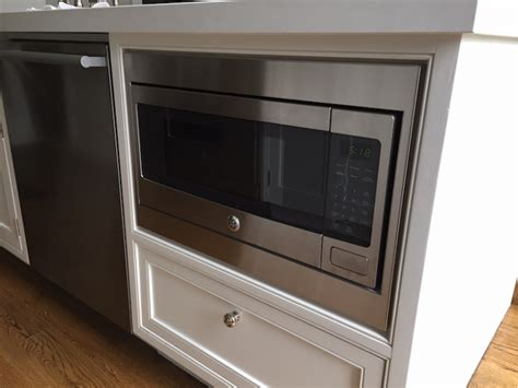 Kitchen Restoration Ideas - ge microwave model pem31sfss custom inset trim kit design ideas pictures