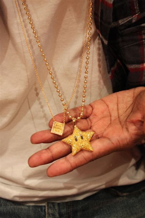 pharrell  super mario jewelry  neptunes  fan