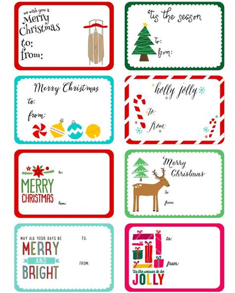 free christmas labels free printable label templates by angie design illustration in a whimsical