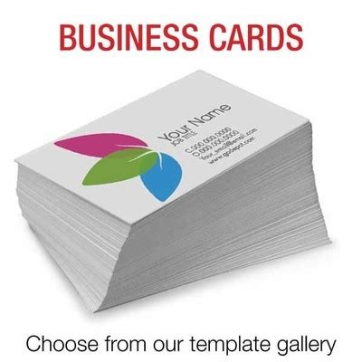 Office Depot Business Card Template