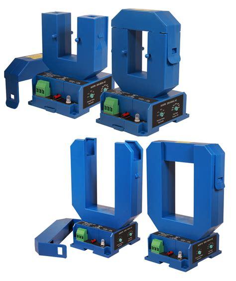 Large Aperture Split Core Current Sensors For Heavy Loads