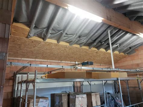 isolation mince toiture par l intérieur isolation d une toiture par l interieur garage tout
