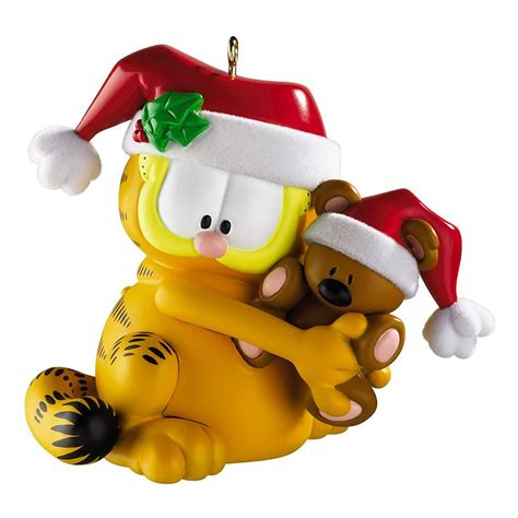 new garfield holiday ornament christmas tree decoration new