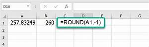 Using The Round Function In Excel Magoosh Excel Blog